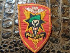 Original Vietnam ARVN Patch Macv Sog Theater Made Green Beret Airborne JPRC