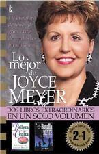 Lo Mejor de Joyce Meyer: Dos Libros Extraordinarios en un Solo Volumen Spanish
