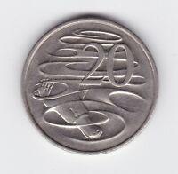 2000 Australia 20 Twenty Cent Coin P-299