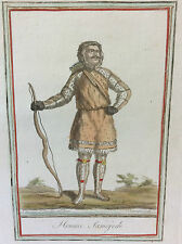 Jacques GRASSET DE SAINT-SAUVEUR Homme Samojede Russie Sibérie J Larogue 1796