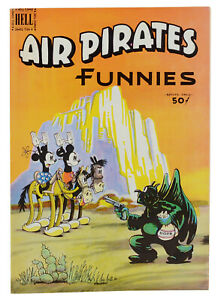 AIR PIRATES FUNNIES 2 ~ First Edition 1971 Underground Comics ~ Dan O'Neill 1st
