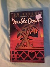 Kakonis, Tom DOUBLE DOWN  1st Edition 1st Printing LIKE NEW Signed by Author