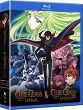 Code Geass: Complete Series [New Blu-ray] Boxed Set, Slipsleeve Packaging, Sna