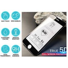 2X 5D Full Glue Edge To EdgeTempered Glass Screen Protector For Apple iphone 6