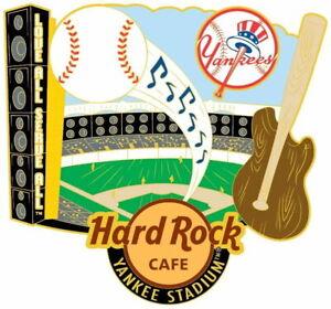 Hard Rock Cafe NEW YORK YANKEE STADIUM 2017 City T-Shirt Alternative MAGNET New!