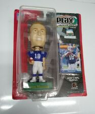 2001 NFL UPPER DECK PLAY MAKERS PEYTON MANNING INDIANAPOLIS COLTS BOBBLEHEAD