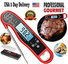 Meat Thermometer Digital Professional Fast Read Food Liquids Cold  BBQ Grilling