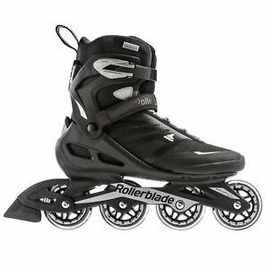Rollerblade Zetrablade Mens Adult Inline Skate, Size 10, Black, Silver (OpenBox)