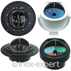 Kompass mit Rose Ø 85 Kugelkompass Qualität Bootskompass Schiffskompass Compass