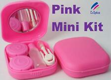 Pink Mini Contact Lens Travel Kit Case - Pocket Size -