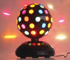 Rotating Disco Light Super Bright Lights Multi-Color Party Lamp Halloween Dance