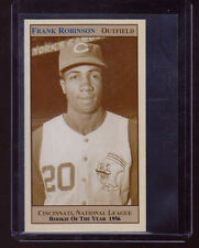 Frank Robinson, '56 Cincinnati Reds slugger, NL Rookie Of The Year