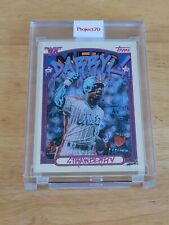 2021 Topps Project 70 - 1972 Darryl Strawberry - Card #13 by Gregory Siff - Mets