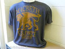 MACBETH  STREET WEAR T- SHIRTS Cotton, Crew Neck, Graphic,Size L  mb1     12