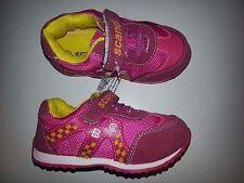 neue Kinder Sportschuhe Freizeitschuhe mit Klettverschluss Farbe pink Größe 21