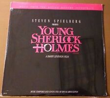 Broughton - Young Sherlock Holmes original Soundtrack LP MCA/1985 Still Sealed