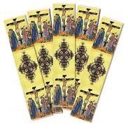 Crucifixion Crucifix Jesus Icon Religious Cloth Tapestry 5 Bookmark Bookmarks !!