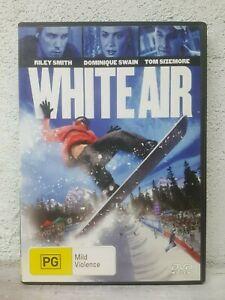 White Air DVD Snowboarding_Riley Smith_Dominique Swain_SPORTS DRAMA