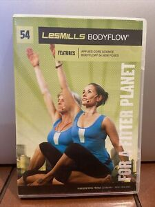 Les Mills Body Flow Release #54 WITH DVD CD BOOKLET