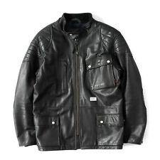 Wtaps japón m-3 field/Cafe Racer Leather Jacket & Tartan lining W) Taps NBHD luker