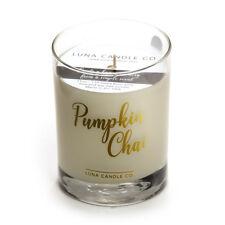 Pumpkin Chai Fall Scented Jar Candle, Premium Natural Soy Wax, 11oz