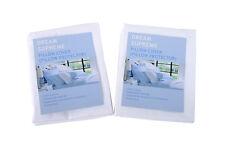 Bedding-Gift 2X 300TC STANDARD COTTON COVER ZIPPERED PILLOW PROTECTOR PILLOWCASE