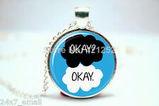 """The Fault in Our Stars """" Okay? Okay. """" PENDANT . HIGH QUALITY ~ BRAND NEW ITEM"""