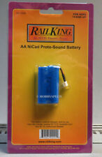RailKing by MTH 50-1024, AA NiCad Proto-Sound Battery, New in Package, C-10  /gn