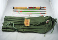 "Old Vintage DAM QUICK ""REFLEX"" GRIP-ROD No. 75 Spinning Rod + Bag - West Germany"