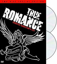 TRUE ROMANCE 2-Disc UNRATED DIRECTOR'S CUT + BONUS FEATURES Not On Any Other DVD
