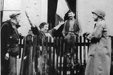 WW2 - Accueil des libérateurs à Belfort fin Nov 1944