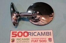 FIAT 500 F/L/R 126 SPECCHIO ROTONDO PIATTO IN METALLO CROMATO ALTISSIMA QUALITA
