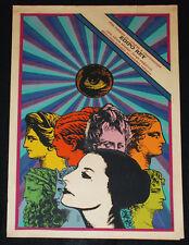 """1973 Cuban Silkscreen Movie Poster""""EDIPO REY""""Alicia Alonso.Ballet.Dance.Opera"""