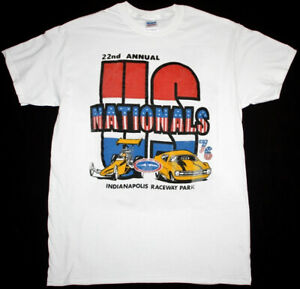 NHRA US Nationals 22nd Indianapolis Finals t-shirt White Unisex Cotton TK4099