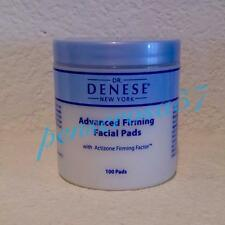 Dr Denese FACIAL FIRMING PADS Glycolic Acid XL 100 COUNT New and Sealed