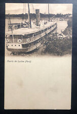 Mint Peru Real Picture Postcard RPPC Port Of Iquitos