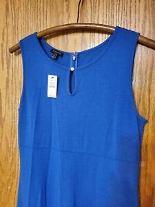 NWT Talbots Maxi Dress Blue Sz Small