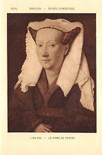 BR44574 J Van Eyck la femme du peintre Bruges musee communal paint peintures