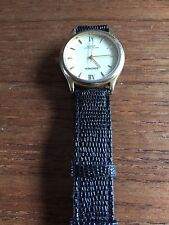 Ladies SECONDA Gold Coloured Watch in wear with - Some minor scratching to case