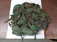SDS Military Large Field Pack W/ Internal Frame BDU Woodland & Patrol Day Pack