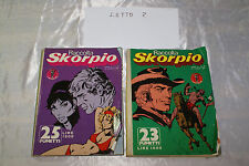 fumetto raccolta skorpio anno VI nr. 66 67 13 agosto 1983 23 luglio 1983 - LOT 2