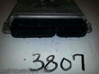 03 05 06 07 JETTA GOLF 2.0L COMPUTER BRAIN ENGINE CONTROL ECU ECM MODULE EBX