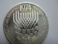 1974-F KM 138 Germany 25 years Constitution