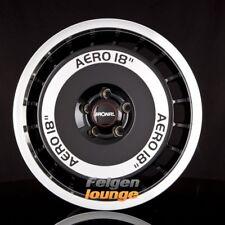 4 Alufelgen RONAL R50 AERO Schwarz Frontkopiert 7,5x16 ET25 4x108 ML65,1 NEU
