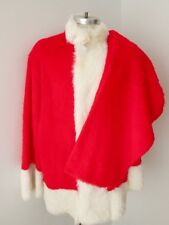 Furry Santa Claus costume top & pants only Size L / XL