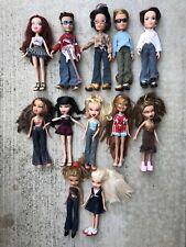 Bratz Dolls Lot Of 12 Vintage Girls And Boys W/ Accessory Sun Glasses Guitar