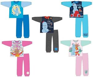 Boys Girls Kid Toddler Official In the Night Garden Pyjamas Iggle Piggle Pjs