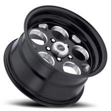 15X10 Vision 561 Sport Mag 5x114.3 ET-25 Black Wheels (Set of 4)