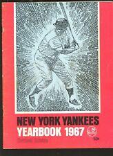 1967 MLB Baseball New York Yankees Revised Yearbook VGEX+