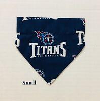 Tennessee Titans NFL Football Over Collar Slide On Pet Dog Cat Bandana Scarf 2c7331880